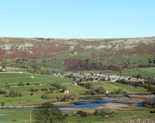 The moors above Swaledale