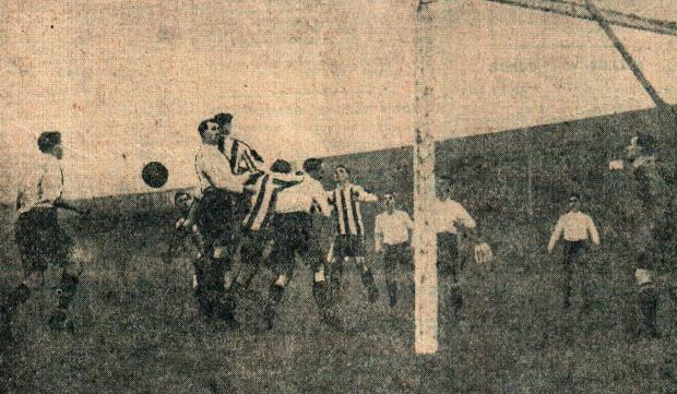 The Northern Echo: Darlington versus Sheffield Wednesday, January 1920