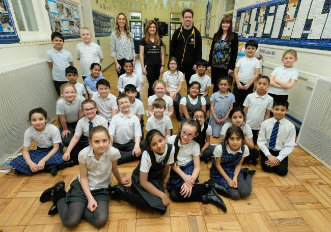 Corporation Road Primary School pupils are taking part in the 'Imagination' show