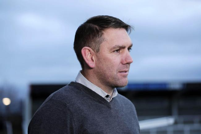 Hartlepool United manager Dave Challinor