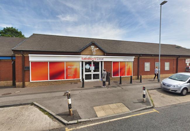 A Sainsbury's Local store on Westbury Street, in Thornaby, which police were called to after reports of an ongoing burglary. Picture: Google