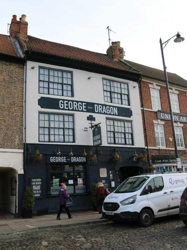 The Northern Echo: The George & Dragon where the re-enactment takes place