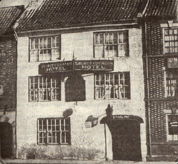 The Northern Echo: The George & Dragon in 1925