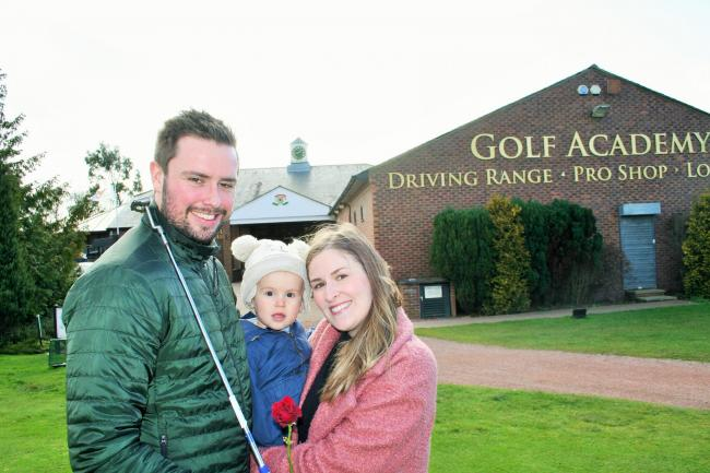 Will and Kate Green met at Ramside Gold Club in Durham