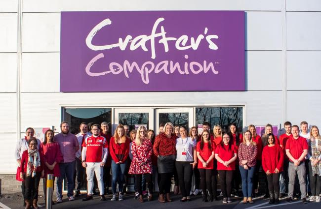 Crafter's Companion has named the Bradley Lowery Foundation as its charity of the year