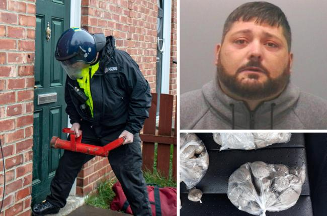 Mark Hardingham, 41, has been jailed for three years after being arrested as part of Northumbria Police's Operation Salvator in April last year