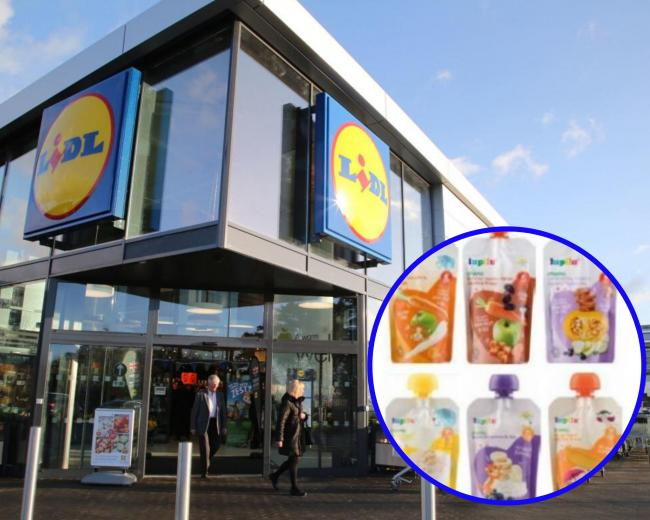 Lidl recalls Lupilu baby food pouches over fears they contain mould