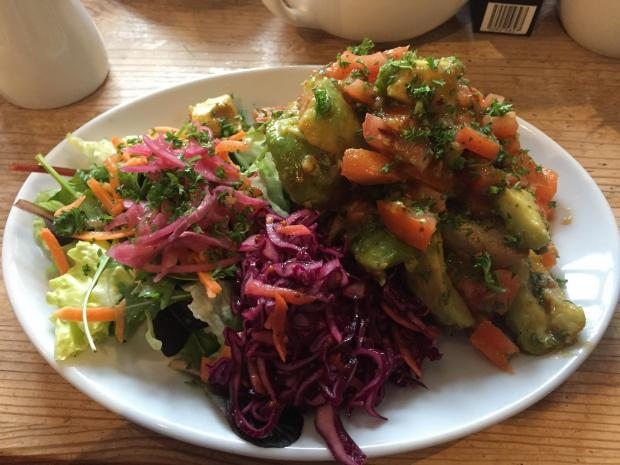 The Northern Echo: The avocado and tomato topped doorstep at Caffe Curva