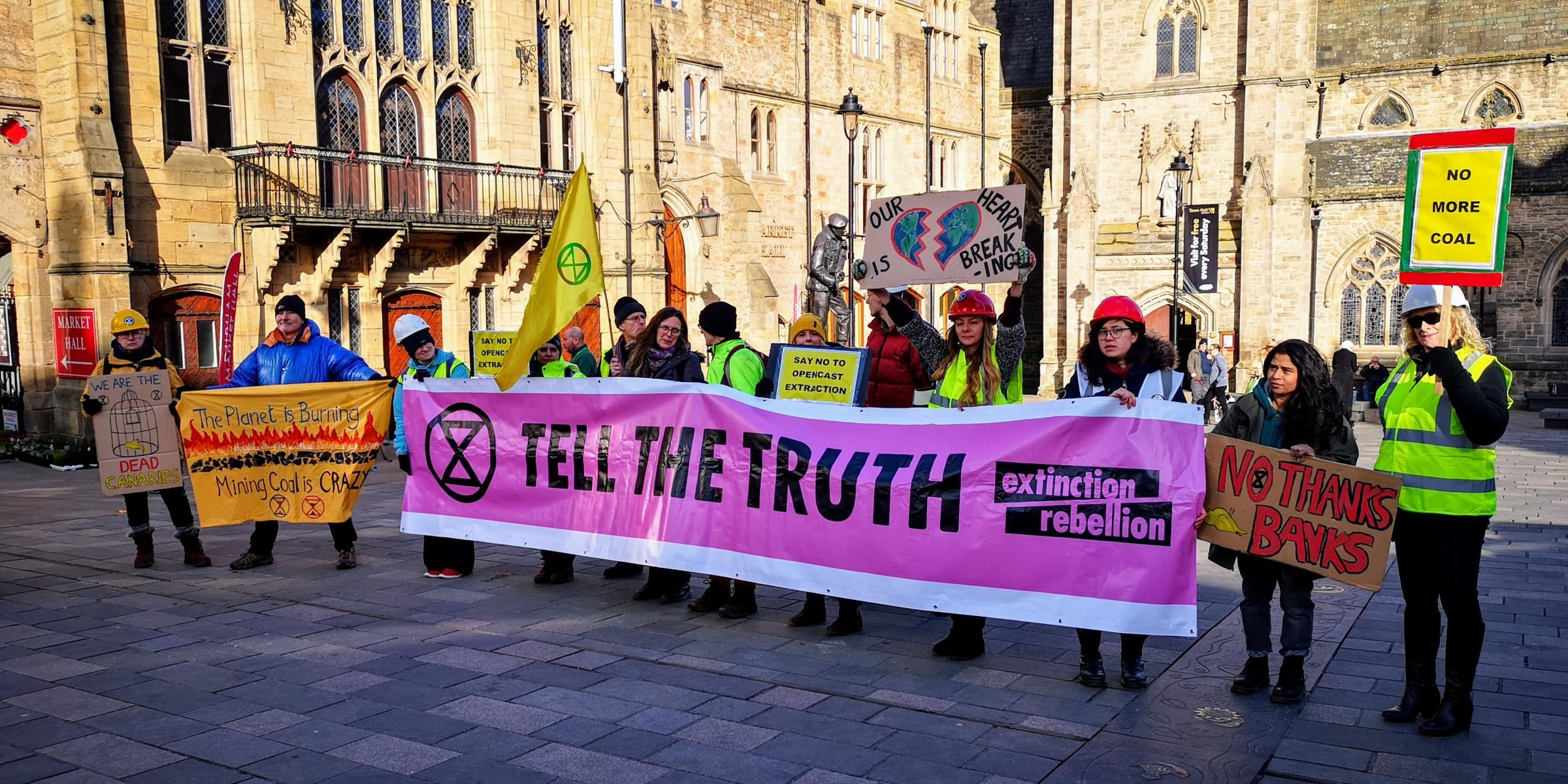 Extinction Rebellion to hold mass protests over opencast plans