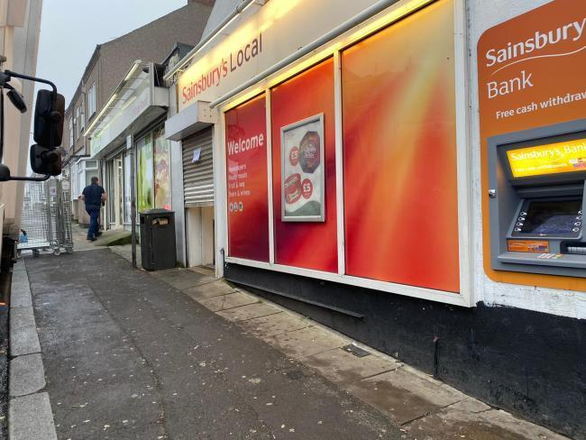Sainsbury's on Clifton Road, Darlington was targeted by Ali Essanoor