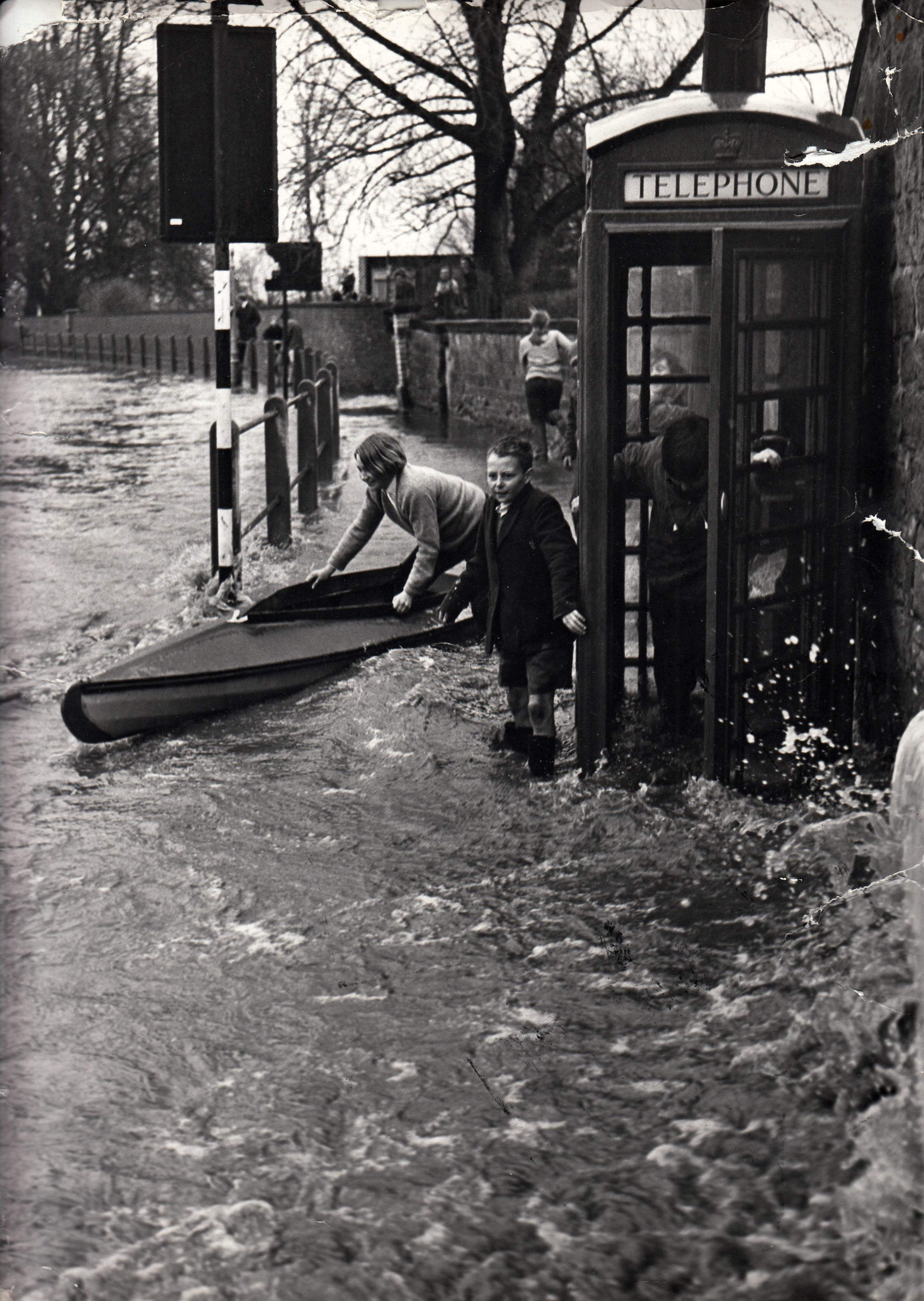 Flooding – it's not a new problem as these 1960s photos show