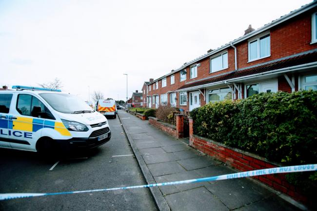 The body of Taylor Black was found at a house in Ketton Road, Stockton, on Monday