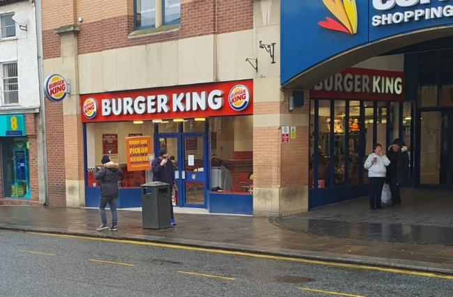 Burger King in Darlington's Cornmill Centre Picture: JIM SCOTT/THE NORTHERN ECHO