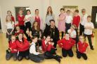 Turning a new leaf, Springfield Academy pupils prepare for a BookFest showstopper
