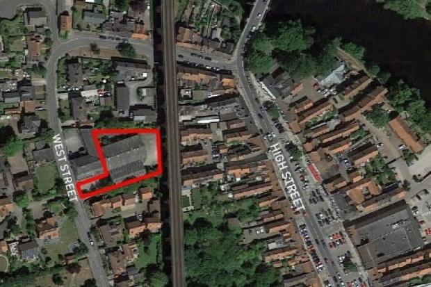Yarm Parking site off West Street, Yarm Picture: STOCKTON COUNCIL/GOOGLE