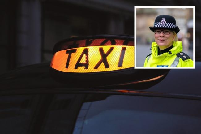 Inspector Karen Madge has sent out a warning about the use of illegal taxis in Newcastle