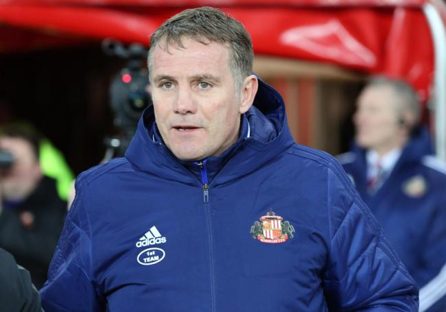 Phil Parkinson watched Sunderland draw 1-1 with Fleetwood