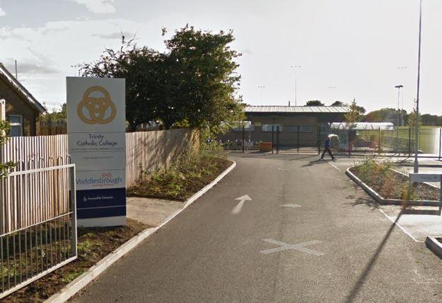 Middlesbrough Trinity Catholic College closes over coronavirus concerns Picture: GOOGLE
