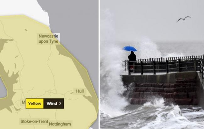 WEATHER WARNING: Strong wind to cause disruption at weekend
