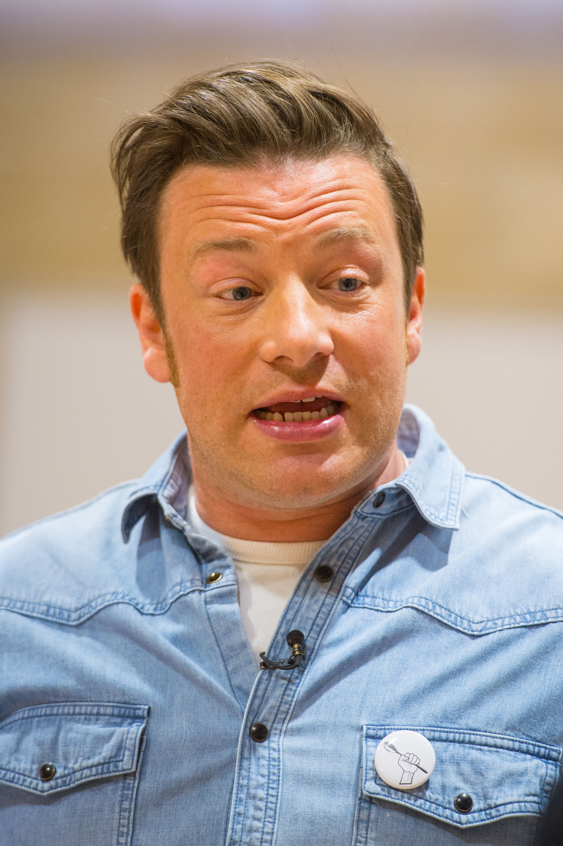 Time to keep Jamie Oliver's plans on track