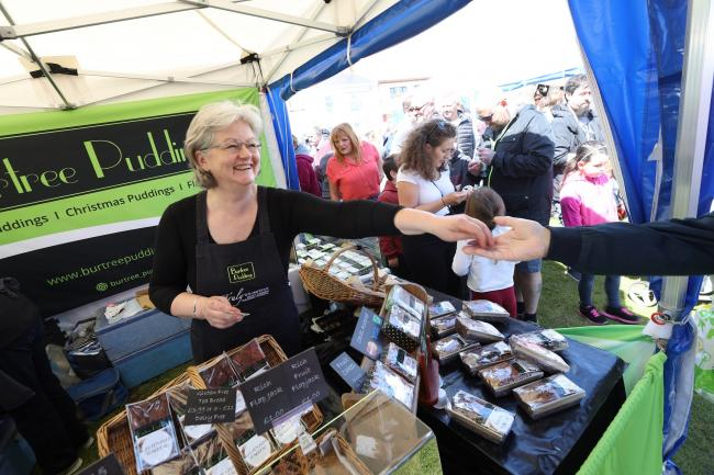 Burtree Puddings at the Bishop Auckland Food Festival