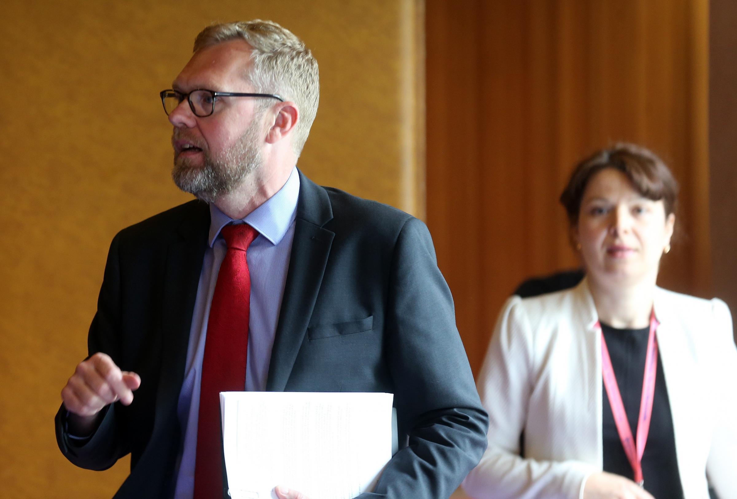 NEWCASTLE: Nick Forbes leadership vote