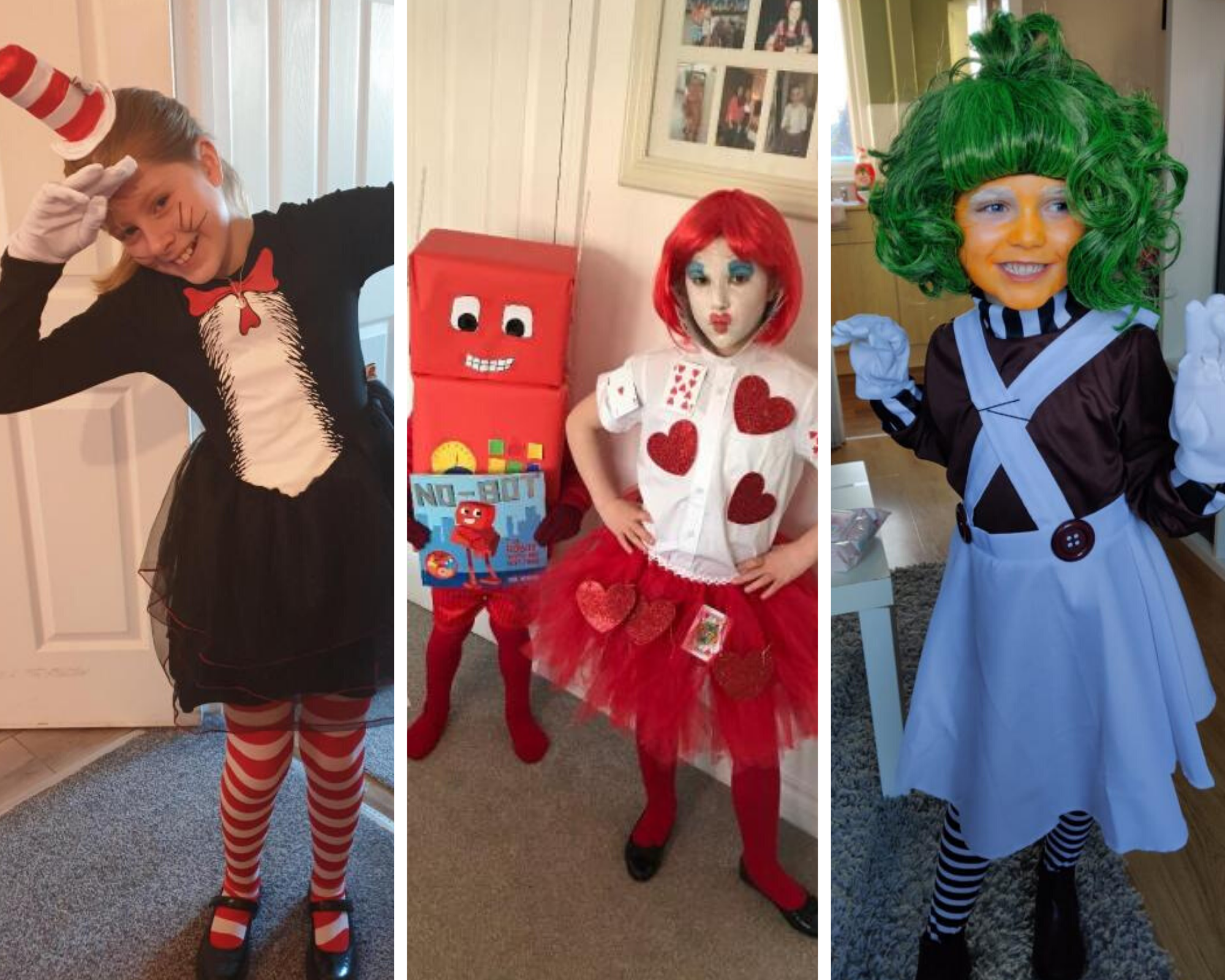 New Kids Girls St Davids Day School Play World Book Day 3 Pcs Welsh Lady Costume