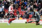 Kyle Lafferty slotted in his second like this for Sunderland
