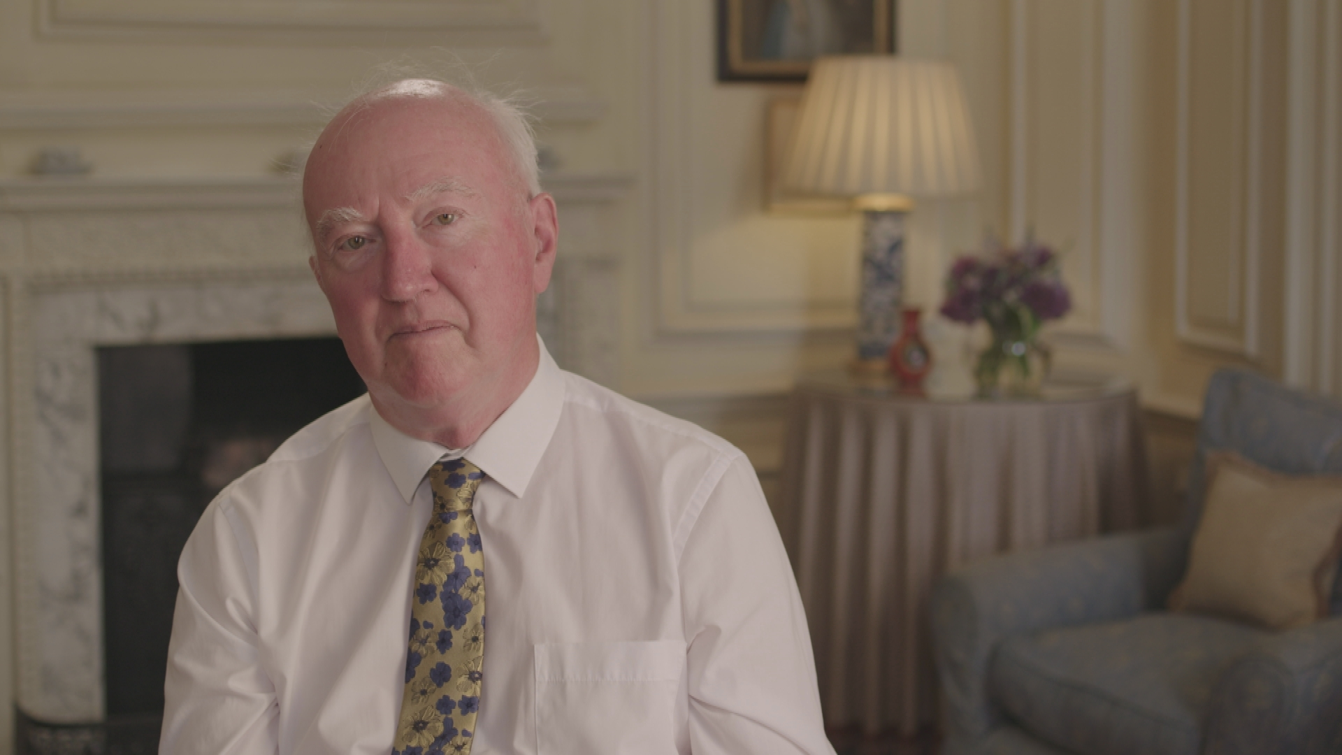 Peter Lawrence, pictured during an interview for a Judge Rinder documentary about his missing daughter Claudia