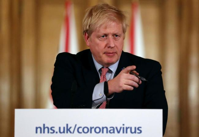Prime Minister Boris Johnson. Picture: Simon Dawson/PA Wire