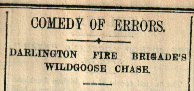 The Northern Echo: How The Northern Echo reported the 1904 wild goose chase to Richmond
