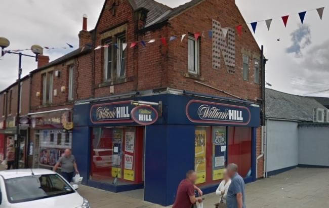 Defendant returned to William Hill shop in Spennymoor to rob assistant of about £70 from till