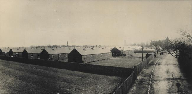 Temporary buildings at Middlesbrough's smallpox hospital. Picture courtesy of Middlesbrough Libraries