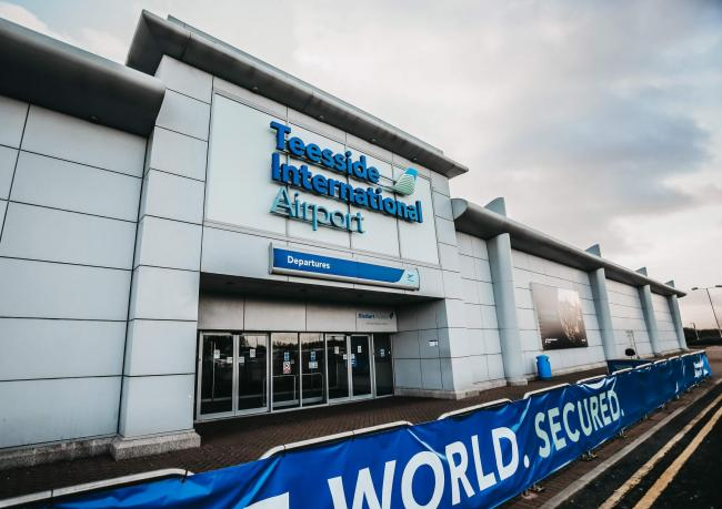 Teesside Airport - a possible location for the Government's new Treasury campus