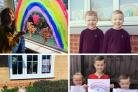 Children at home: Your rainbow pictures from across the North-East so far!