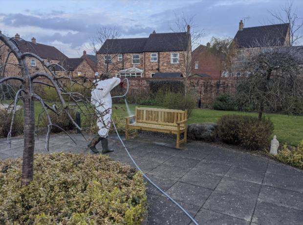 The Northern Echo: Elderly care homes have been disinfected for free