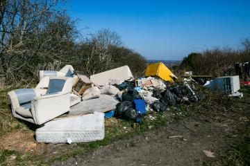 Seized fly-tipping vans sold to help Durham communities