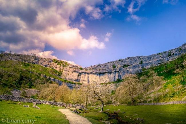 Malham Cove, captured by Northern Echo Camera Club member Brian Curry last summer