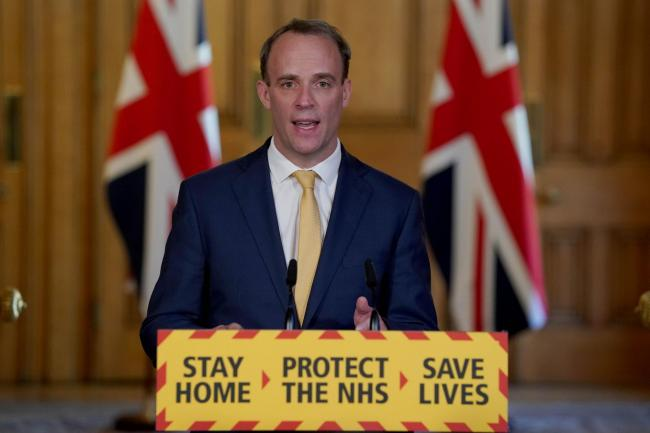 Dominic Raab, Foreign Secretary and First Secretary of State Picture: PA