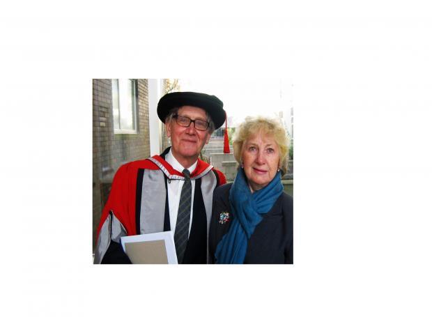 David Williams Historian David Williams And His Wife