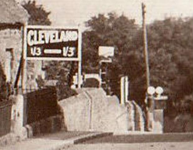 The Northern Echo: The Cleveland 1/3 sign in Winston