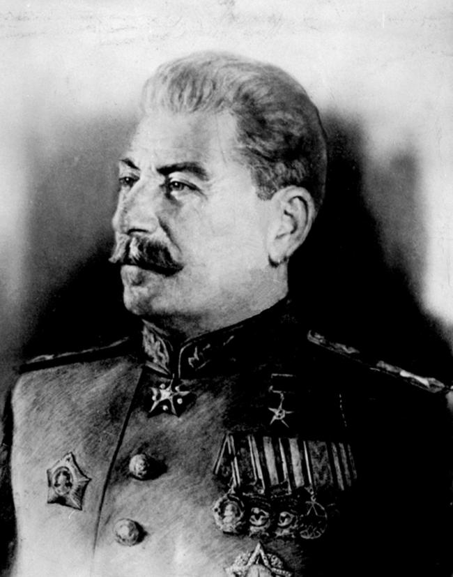 Undated PA file photo of Jospeh Stalin. Legendary wines from the cellars of 19th century Russian tsars and Joseph Stalin are set to sell for more than £500,000 when they are auctioned, Friday December 3, 2004. See PA Story SALE Wines. PA Phot