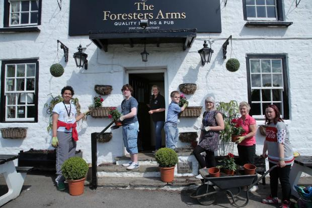 The Northern Echo: The Foresters Arms at Coatham Mundeville