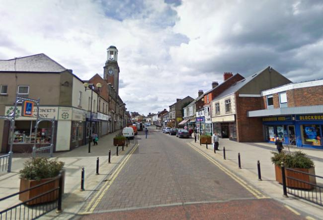 Spennymoor Town Centre. Picture: Google
