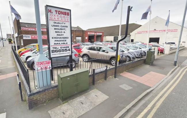 Eleven cars were stolen from Tones Garage, in Hartlepool overnight Picture: GOOGLE