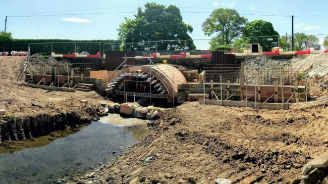 Work is progressing to make Tanton Bridge safer