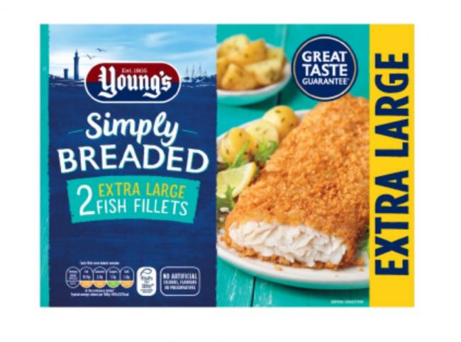 Young's Seafood recalls breaded fish fillets due to traces of milk. Picture: Young's Seafood