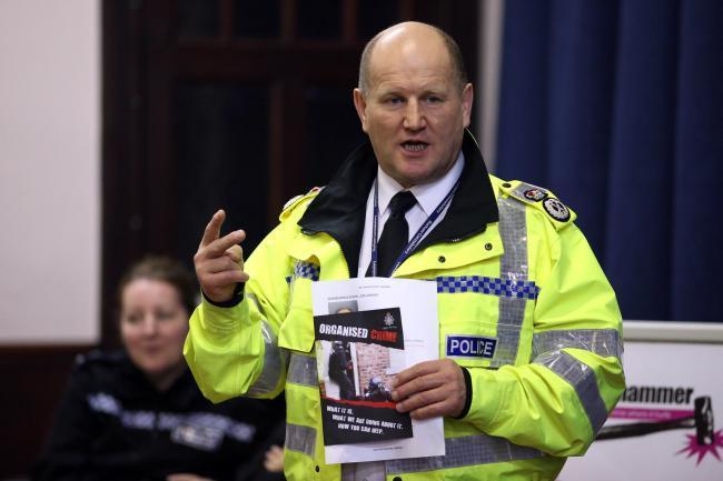 Former Durham Police chief constable Mike Barton