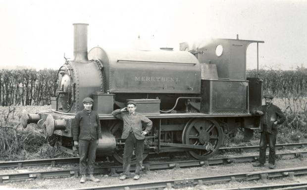 The Northern Echo: Merrybent No 2, an 1875 locomotive which is believed to have been built in Loughborough. It may be the engine as Barton, only with a new name, possibly after an accident.