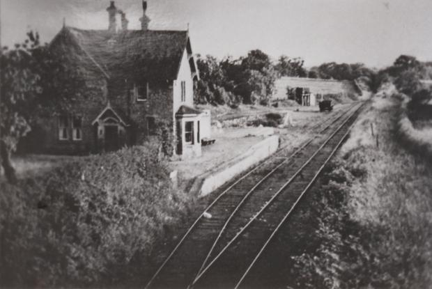 The Northern Echo: Barton station was to the north-west of the village, and is believed to be the only passenger station never having sold a ticket to a passenger. It is now beneath the A1(M)